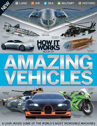 How it Works Book of Amazing Vehicles Volume 1 digital cover