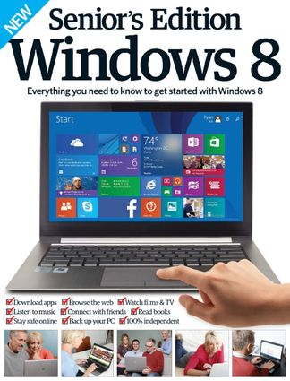 Seniors Edition Windows 8 digital cover