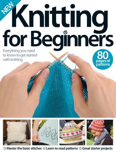 Knitting for Beginners digital cover