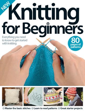 Knitting for Beginners digital cover