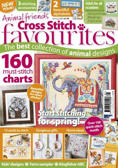Cross Stitch Favourites digital cover