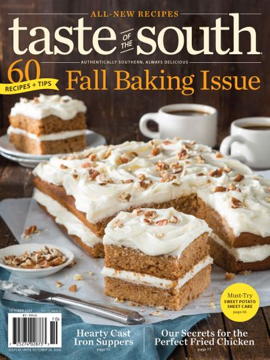 Taste of the South digital cover