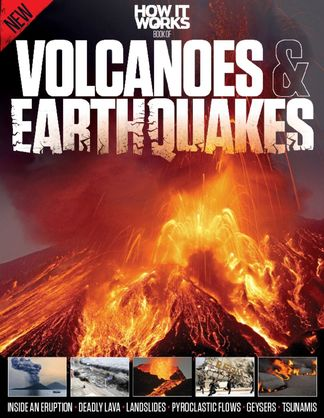 How It Works Book of Volcanoes and Earthquakes digital cover