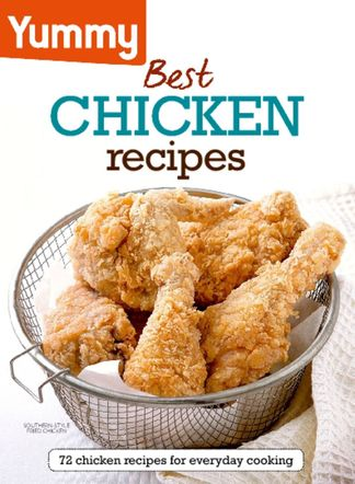 Yummy Best Chicken Recipes digital cover