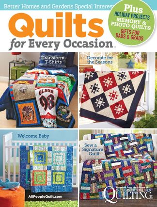 Quilts for Every Occasion 2015 digital cover