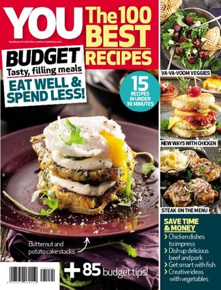 YOU The 100 Best Recipes: Budget digital cover