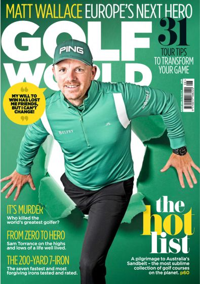 Golf World digital cover