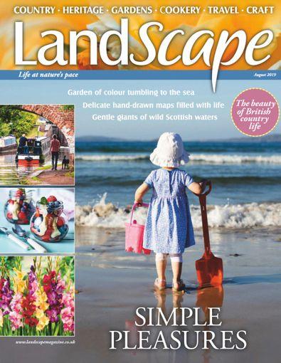 Landscape Magazine digital cover