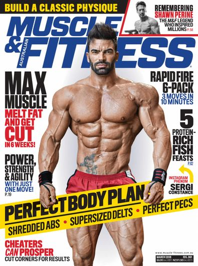 Muscle & Fitness Australia digital cover
