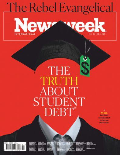 Newsweek Europe digital cover