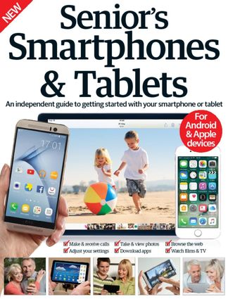 Senior's Edition Smartphones & Tablets digital cover