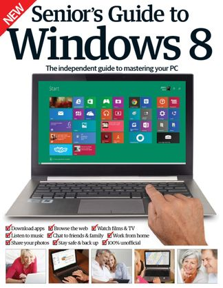Senior's Guide To Windows 8 digital cover