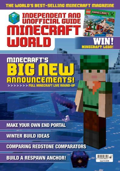 Minecraft World Magazine digital cover