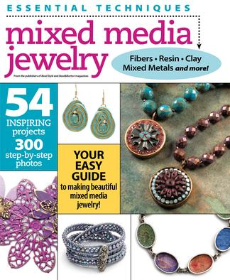Essential Techniques: Mixed Media Jewelry digital cover