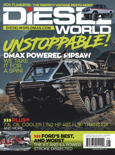 Diesel World digital cover