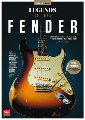 Legends of Tone - Fender digital cover