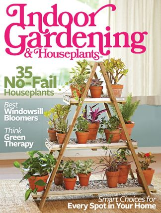 Indoor Gardening & Houseplants 2016 digital cover
