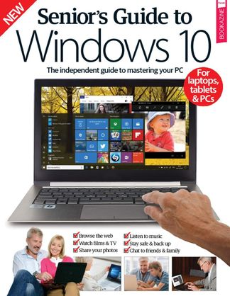 Senior's Guide To Windows 10 digital cover