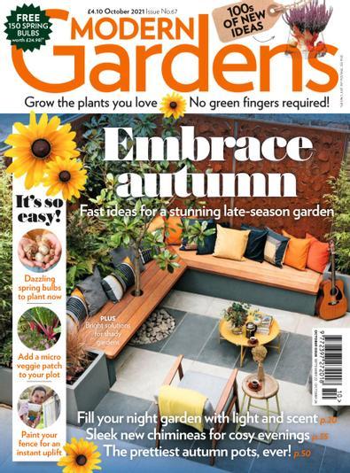 Modern Gardens Magazine digital cover