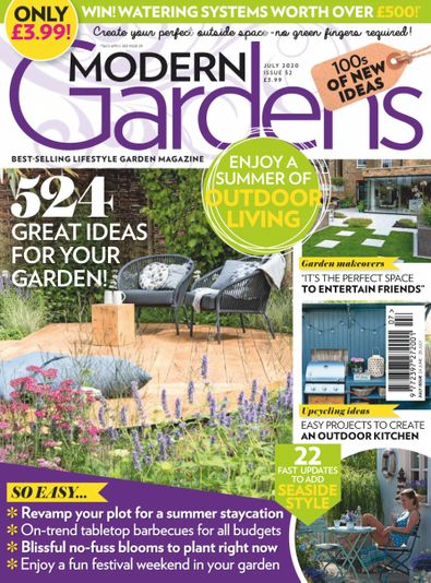 Modern Gardens Magazine digital cover