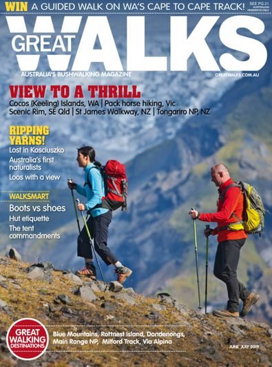 Great Walks digital cover
