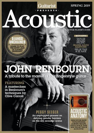 Guitarist Presents Acoustic: Spring digital cover