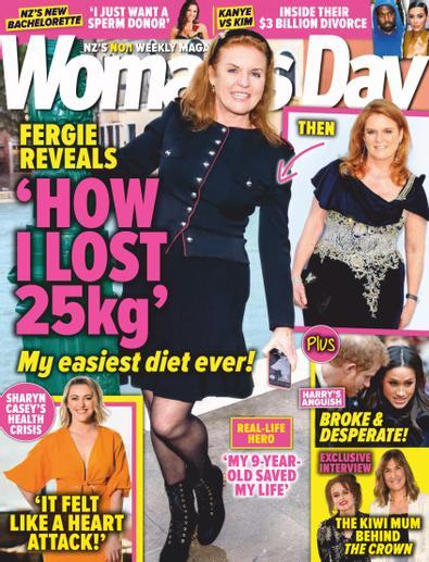 Woman's Day Magazine NZ digital cover