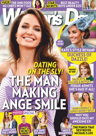 Woman's Day Magazine NZ digital cover