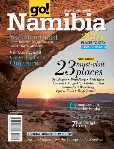 go! Namibia digital cover