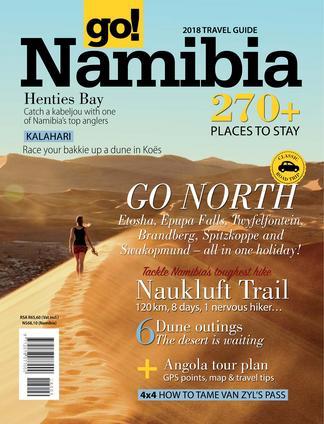 go! Namibia digital cover