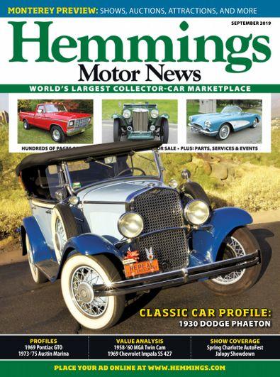 Hemmings Motor News digital cover