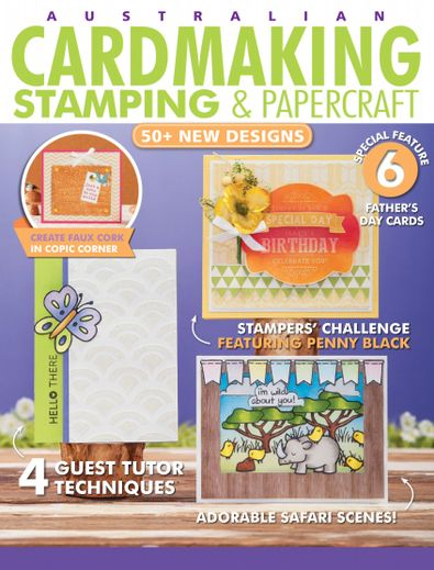 Cardmaking Stamping & Papercraft digital cover