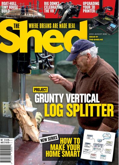 The Shed digital cover