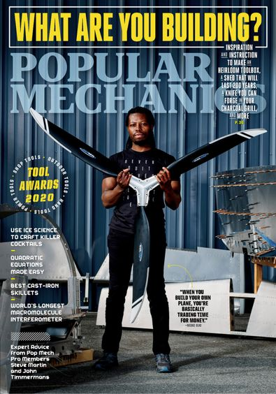 Popular Mechanics digital cover