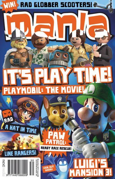 Mania digital cover
