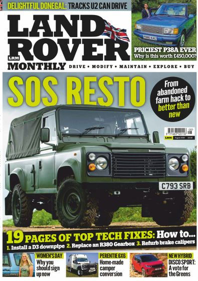 Land Rover Monthly digital cover