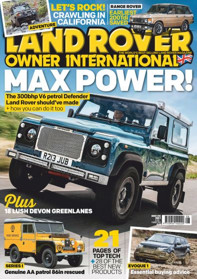 Land Rover Owner digital cover