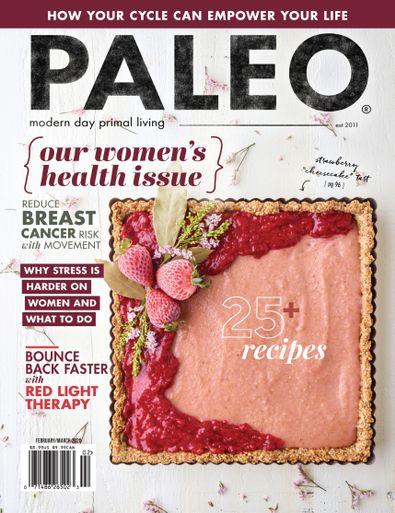 Paleo Magazine digital cover