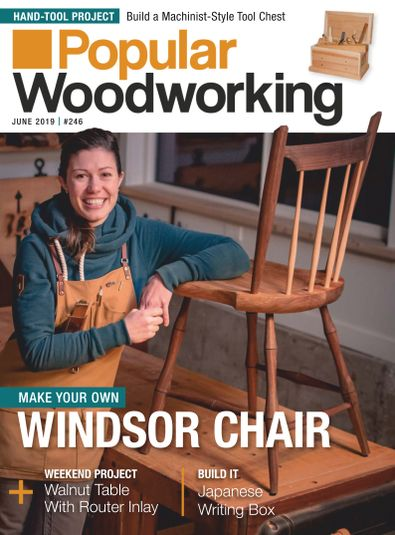 Popular Woodworking digital cover