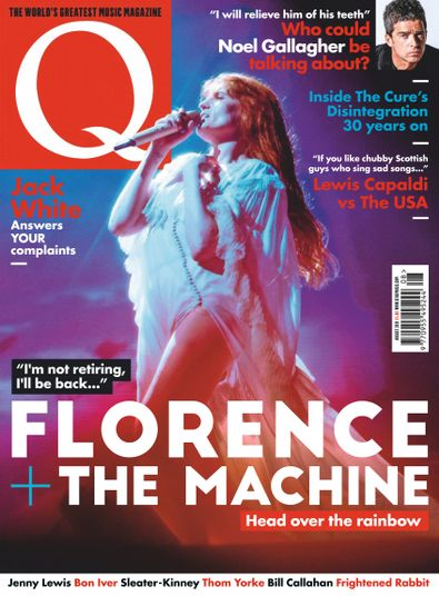 Q Magazine digital cover