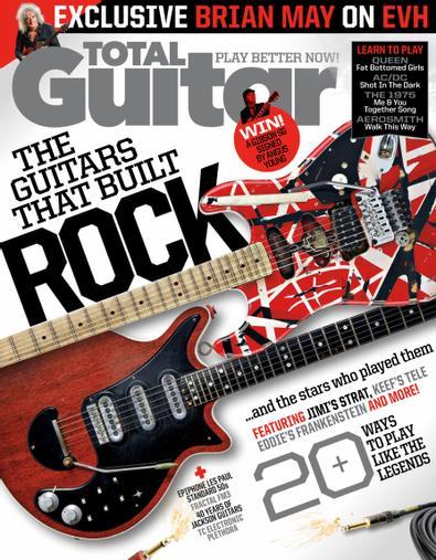 Total Guitar digital cover