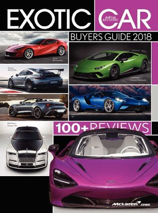 Exotic Car Buyers Guide digital cover