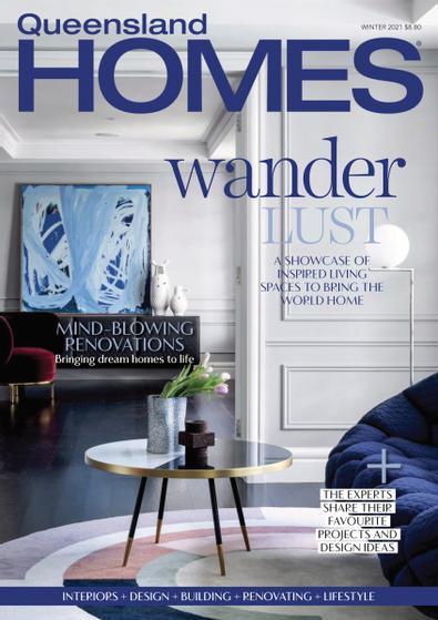 Queensland Homes digital cover
