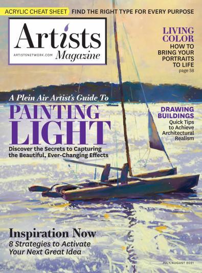 The Artist's Magazine digital cover