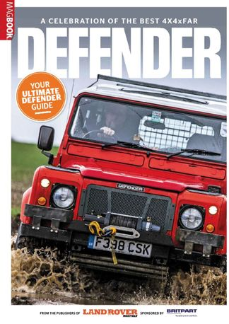 Landrover Defender 2 digital cover