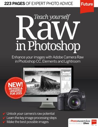 Teach Yourself RAW in Photoshop digital cover