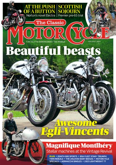 The Classic MotorCycle digital cover