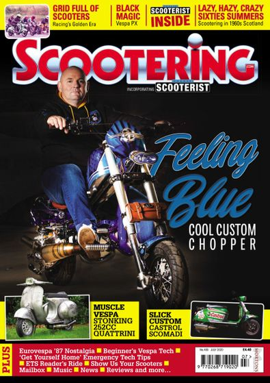Scootering digital cover