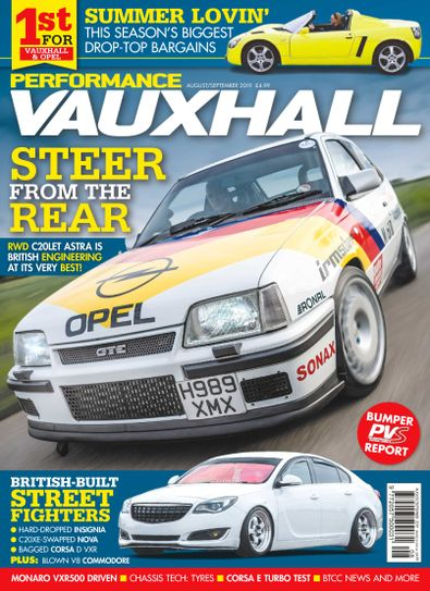 Performance Vauxhall digital cover