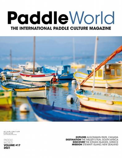 Paddle World Magazine digital cover